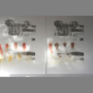 C Morrison Dachau (2005) Execution prints grey